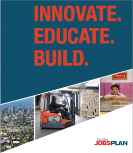 The most recent Seattle Jobs Plan cover.