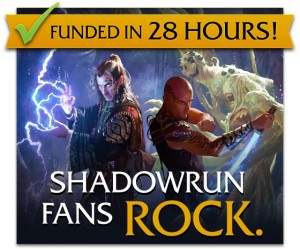 Harebrained Schemes' thanks Shadowrun fans last year.