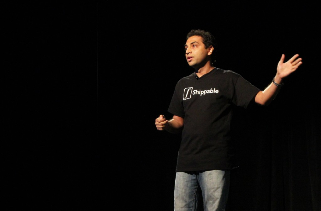Shippable co-founder Avi Cavale pitches at Techstars Seattle Demo Day 2013.