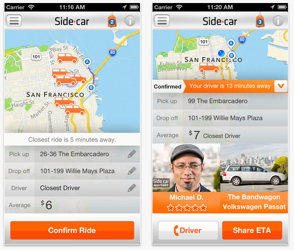 Sidecar Ride App >> Sidecar Uber Lyft Not Happy With Seattle S Anti