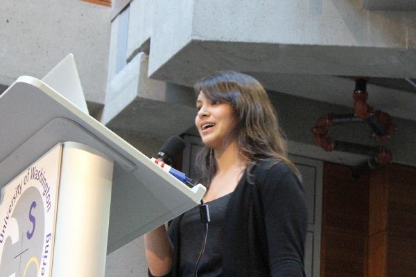 Adina Mangubat, CEO and co-founder of SpiralGenetics.