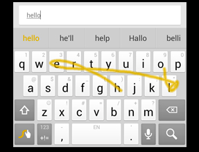 Swype Adds Keyboard Features But No Word Of Iphone App Geekwire