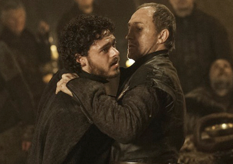 """""""The Lannisters send their regards."""" - Roose Bolton, Stakeholder"""