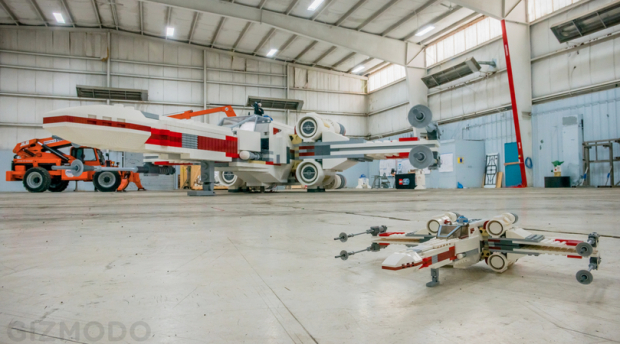 Holy Womp Rats Check Out This Amazing Full Scale Lego Model Of An X Wing Fighter Geekwire Play through all nine films in lego star wars: x wing fighter