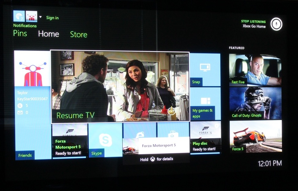 Video demo: Putting Xbox One voice commands to the test