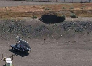 Hanford tunnel cave-in