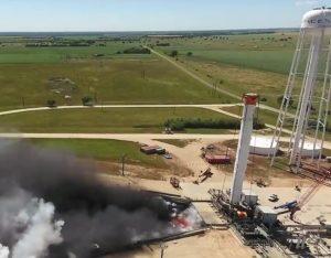 SpaceX Falcon Heavy core test