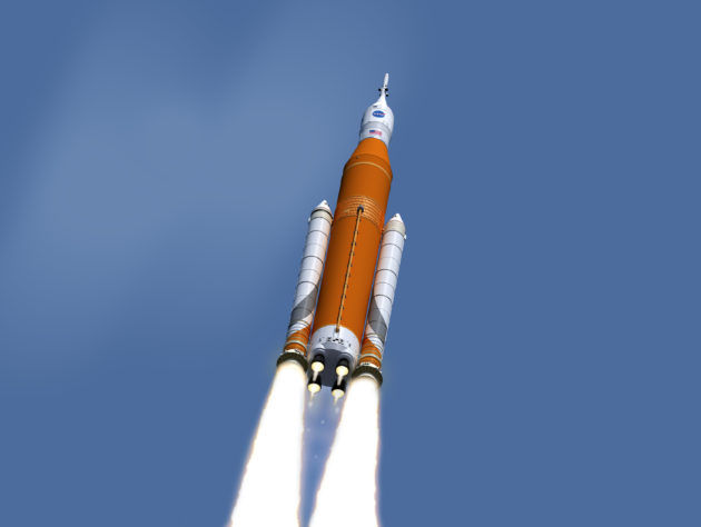 NASA Orion and SLS