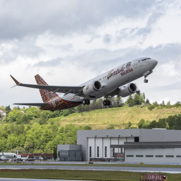 Malindo Airlines Boeing 737 MAX 8