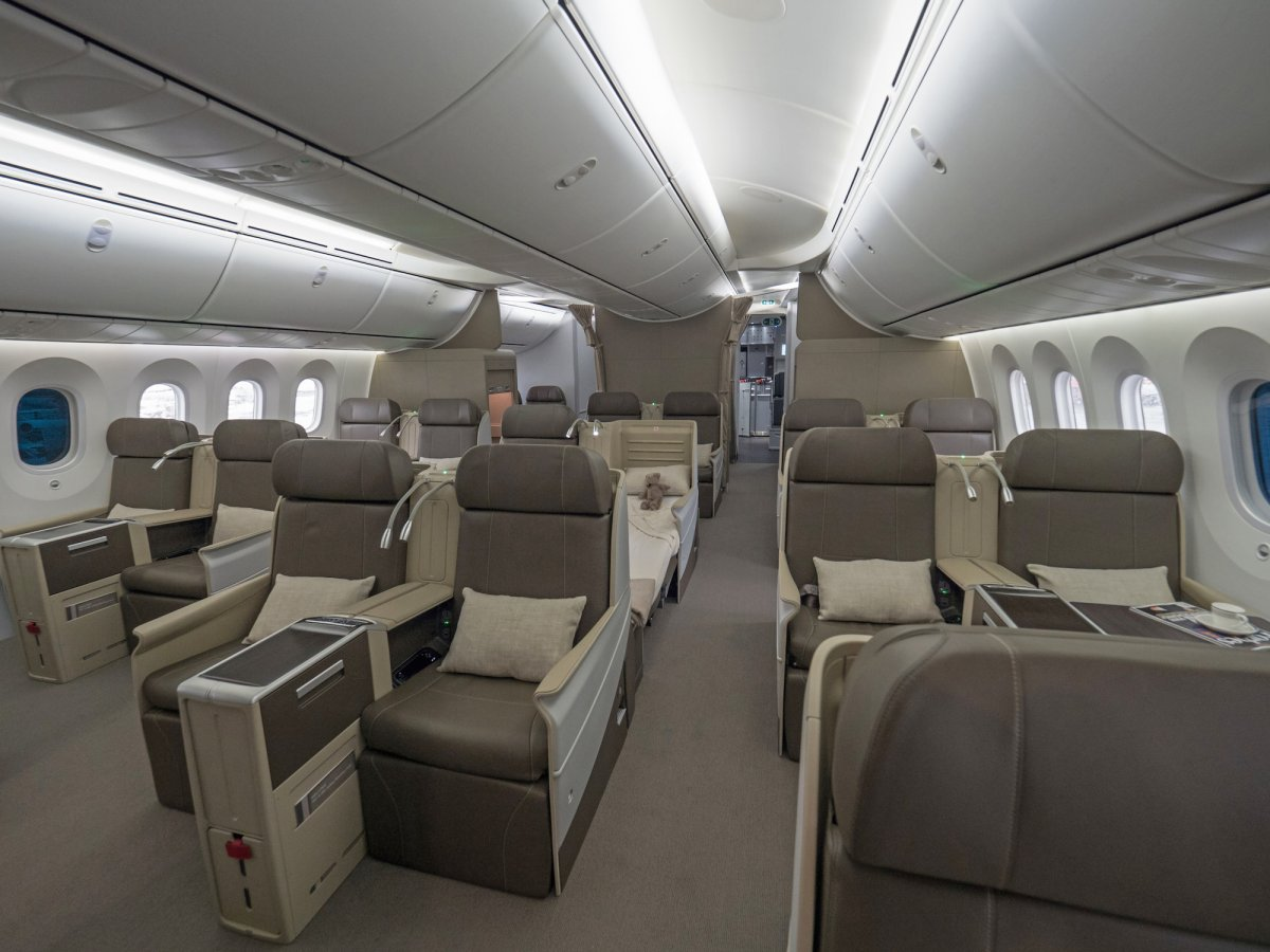 Business-class seating