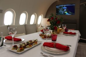 Dreamliner dining table
