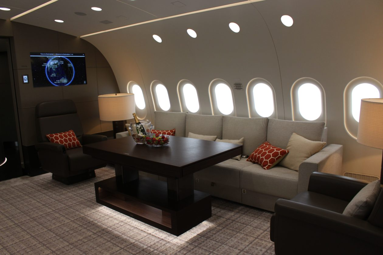 Dream Jet lounge