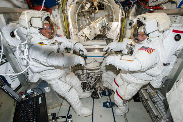 Emergency spacewalk to replace failed NASA space station computer