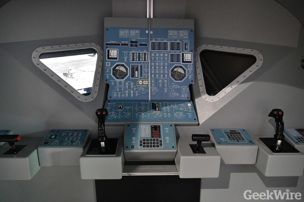 Apollo lunar module mockup