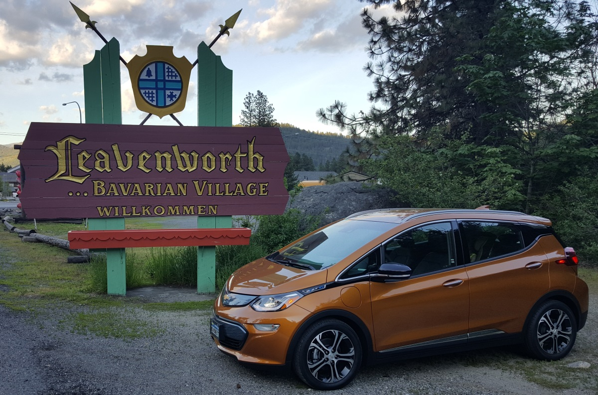 Chevrolet Bolt EV at Leavenworth