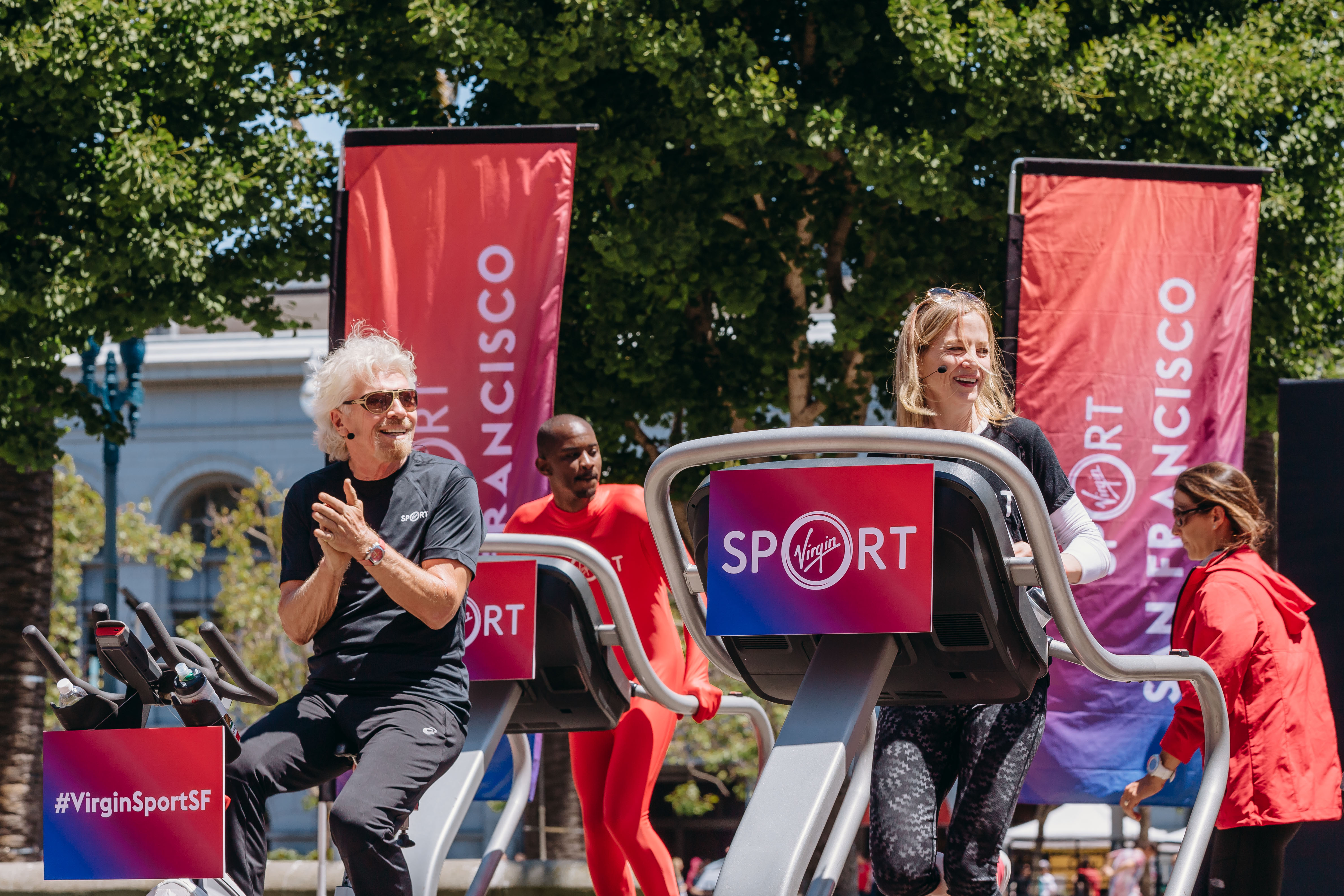 How Sir Richard Branson is encouraging healthy habits with Virgin Sport's new 'fitness festivals'