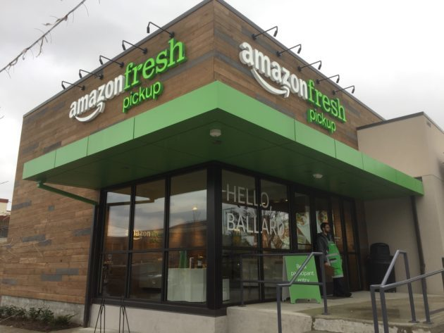 How the new Amazon Fresh Pickup works