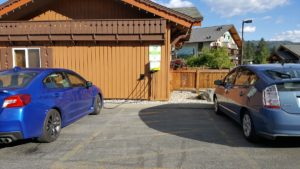 A free EV charging station in Leavenworth, WA