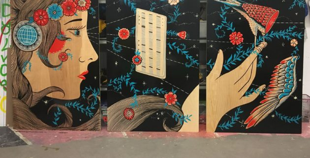 Kyler Martz mural