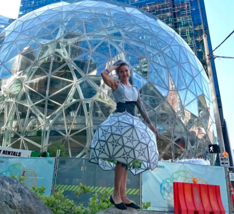 Spheres dress
