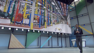 Google CEO Sundar Pichai speaks at Google I/O 2017