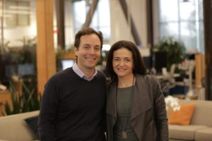 Zillow CEO Spencer Rascoff and Facebook COO Sheryl Sandberg