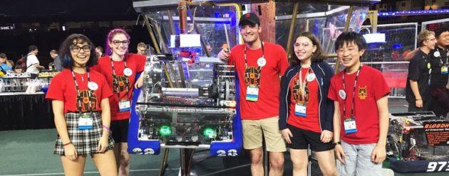 Ballard High School Viking Robotics team