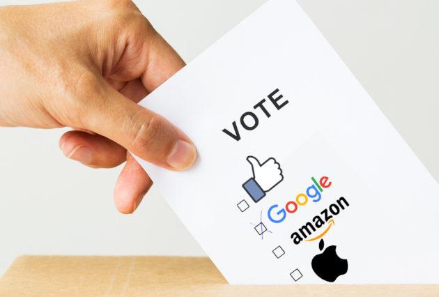 Amazon, Apple, Google, facebook