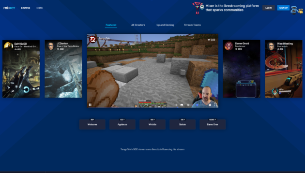 Microsoft's interactive game streaming service Beam renamed to Mixer