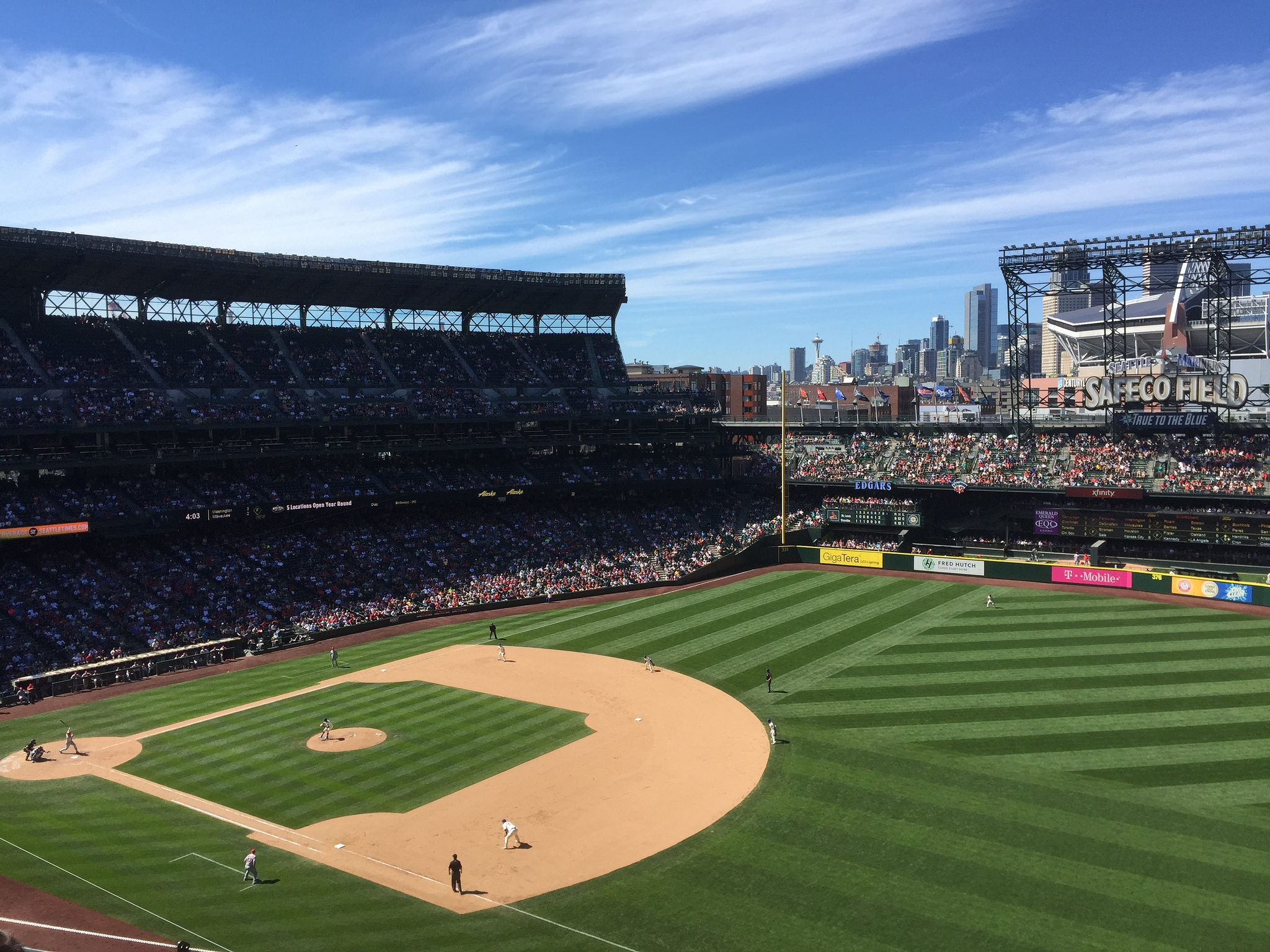 Safeco Field Home Of The Seattle Mariners Is Getting A Name