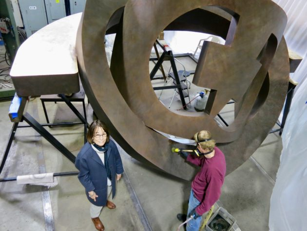 Julie Speidel sculpture