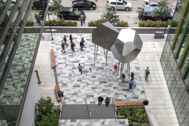 Julie Speidel Amazon sculpture