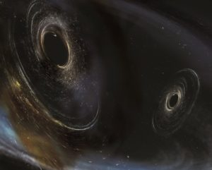 LIGO black hole merger