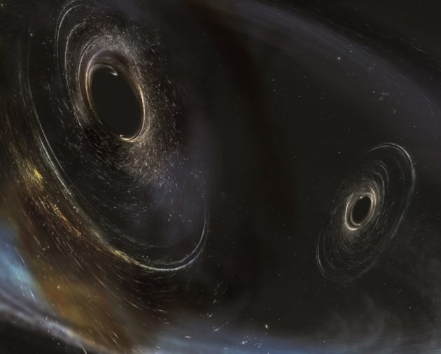 LIGO black hole merger