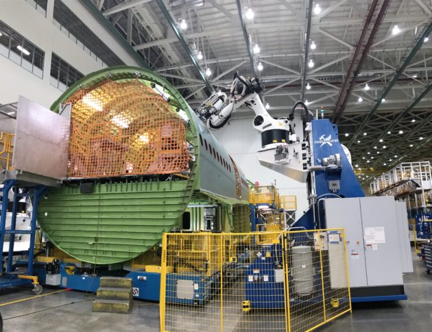 Robot 2 at Boeing Everett plant