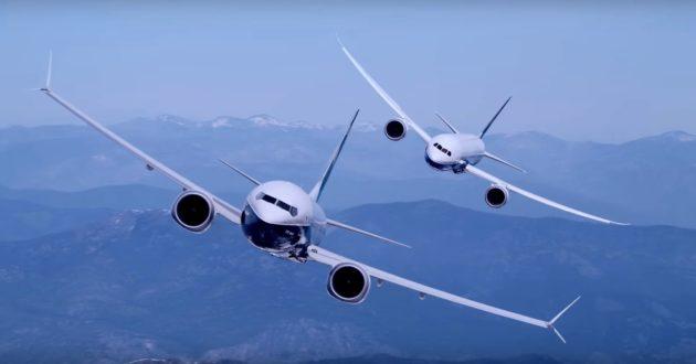 Paris Air Show Boeing video