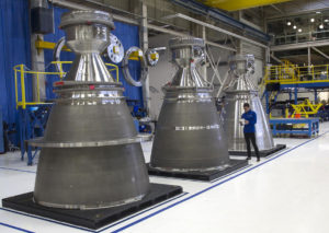 Blue Origin BE-4 engines