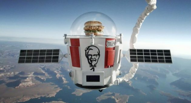 Zinger sandwich in stratosphere