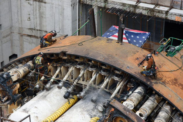 Bertha disassembly
