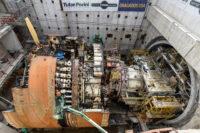 Bertha disassembly