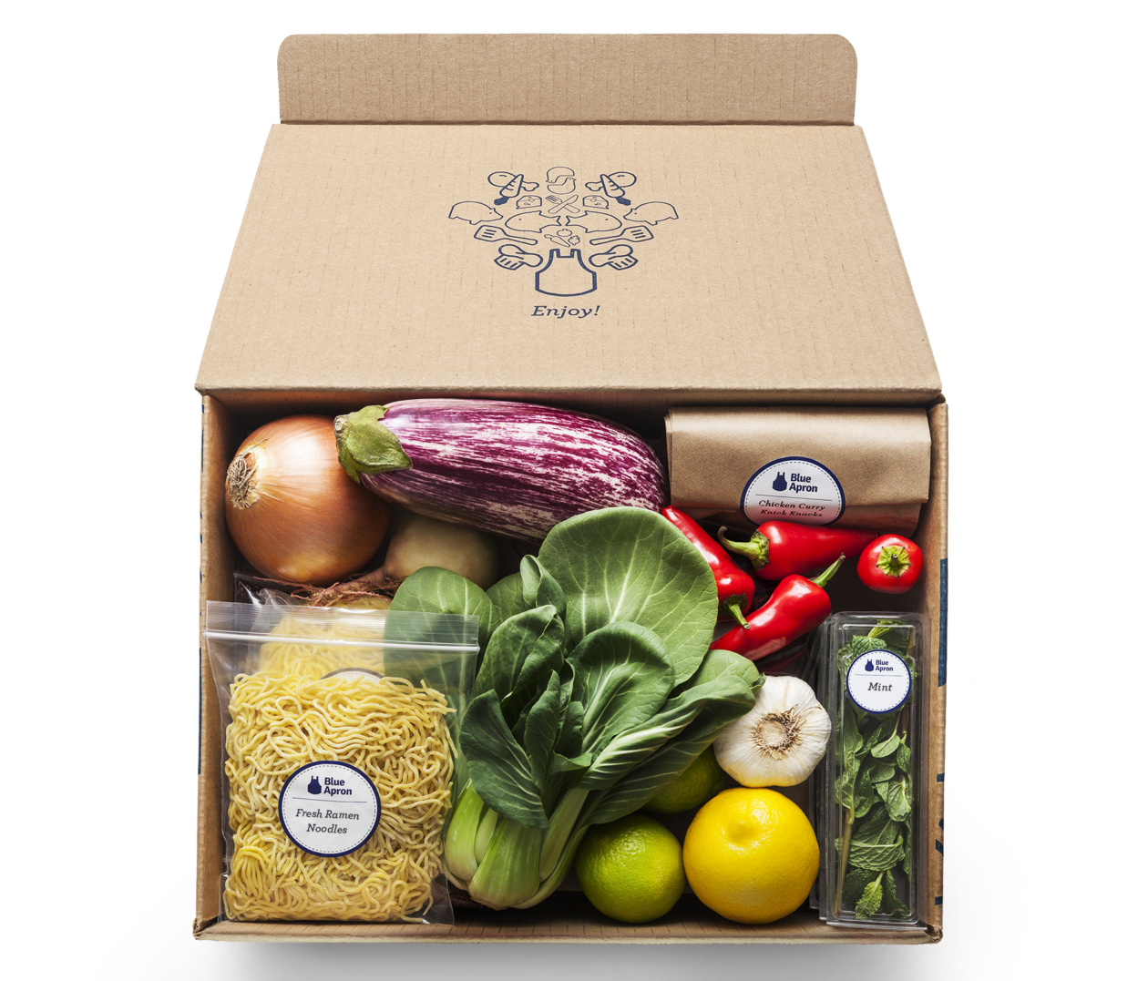 meal kit delivery company blue apron cutting 1 270 jobs as competition with amazon heats up. Black Bedroom Furniture Sets. Home Design Ideas