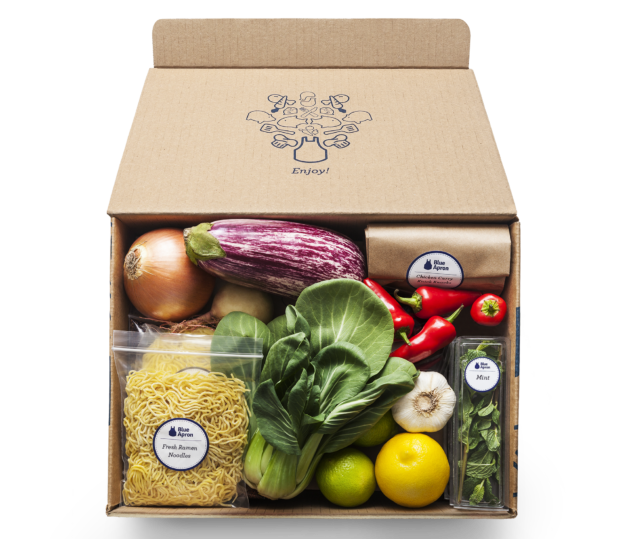 Meal kit delivery company blue apron cutting 1270 jobs as a blue apron meal kit blue apron photo forumfinder Image collections