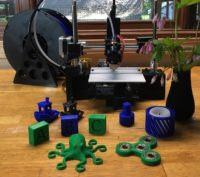 BuildOne 3D Printer early prototype