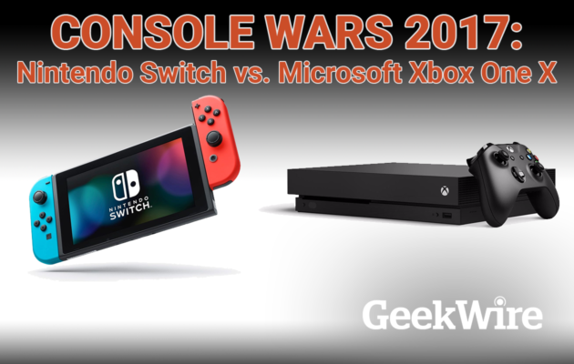 Xbox One X vs  Nintendo Switch: 2017's new gaming consoles