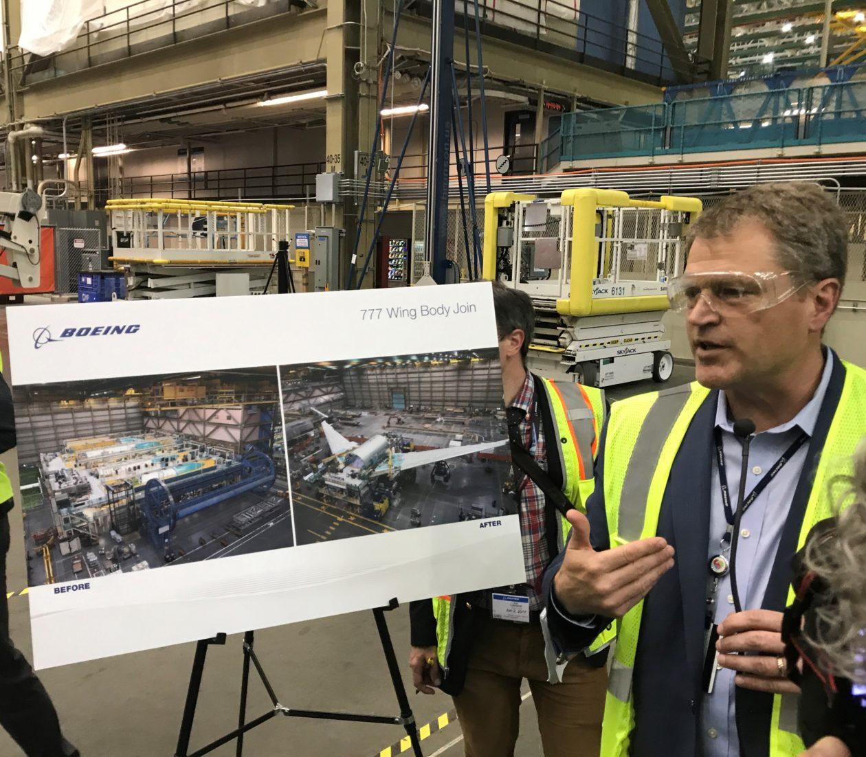 Boeing's Brad Zaback