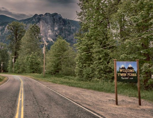 Sign of the times: 'Twin Peaks' is back, and so is iconic marker