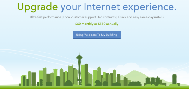 Google Fiber Owned High Speed Internet Provider Webpass Comes To