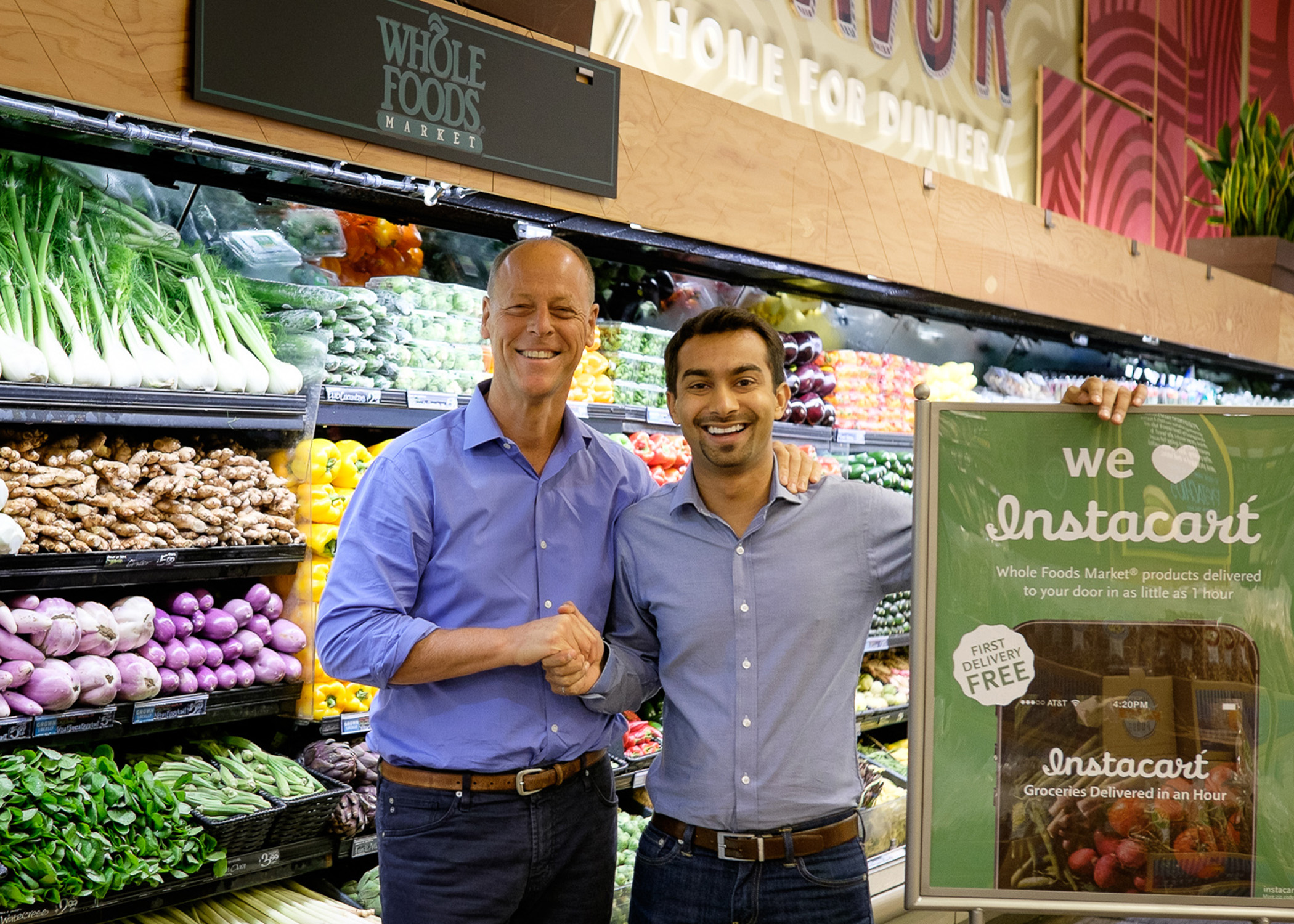 Whole Foods delivery partner Instacart: Amazon just