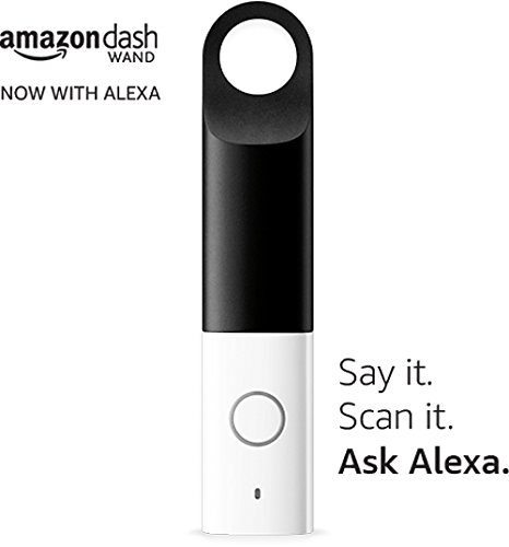 Amazon's $20 Dash Wand is an Alexa Device that Scans Barcode