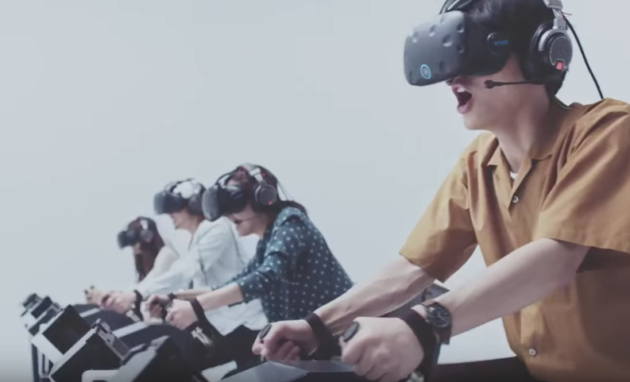 Check Out The First Images Of Mario Kart VR